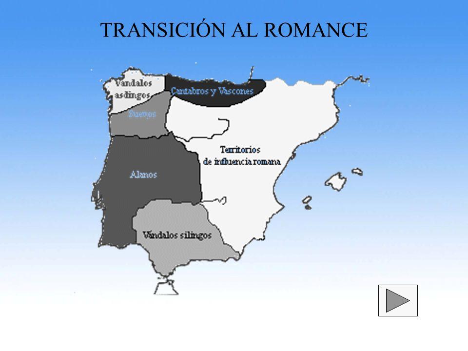 TRANSICIÓN AL ROMANCE