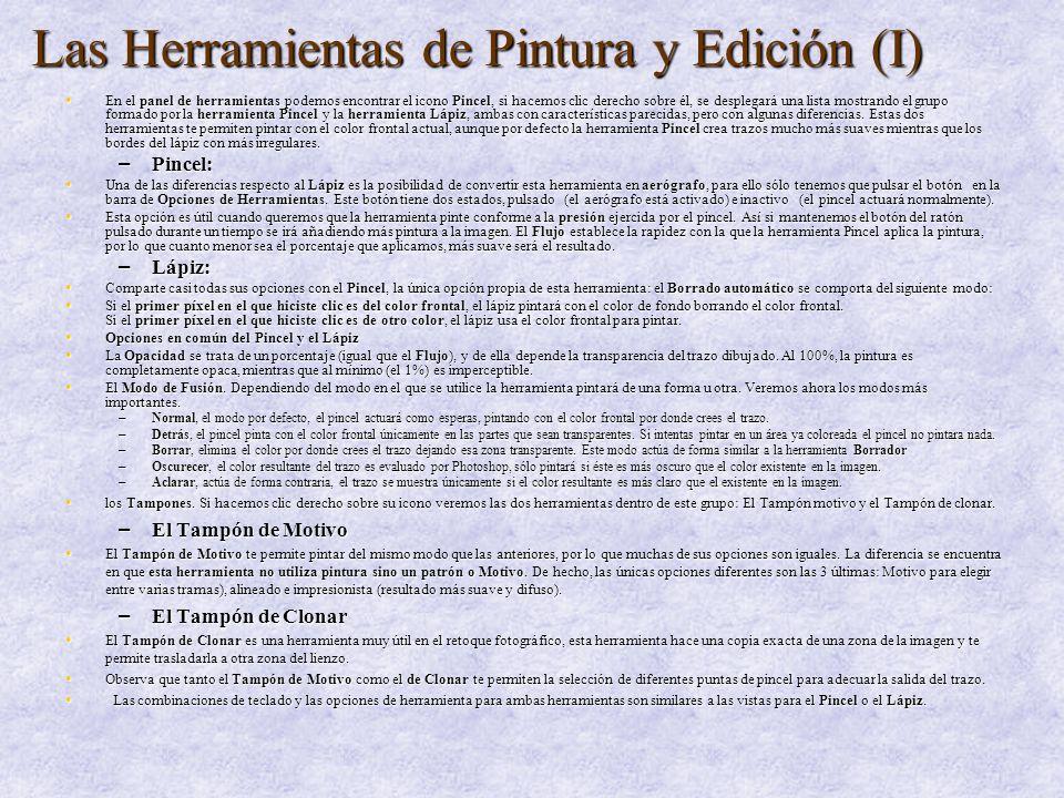 Las Herramientas de Pintura y Edición (II) – Las herramientas de Degradado y Bote de pintura.