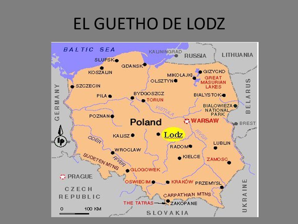 EL GUETHO DE LODZ