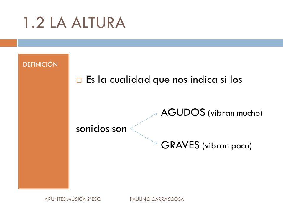 CRÓTALOS APUNTES MÚSICA 2ºESO PAULINO CARRASCOSA 4.IDIÓFONOS: TIPOS 4.2NO AFINADOS