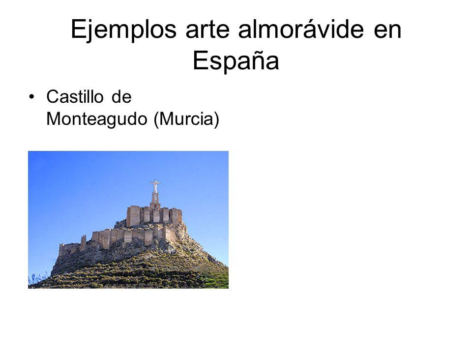 Ejemplos arte almorávide en España Castillo de Monteagudo (Murcia)