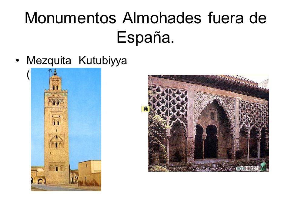 Monumentos Almohades fuera de España. Mezquita Kutubiyya (Marraquesh