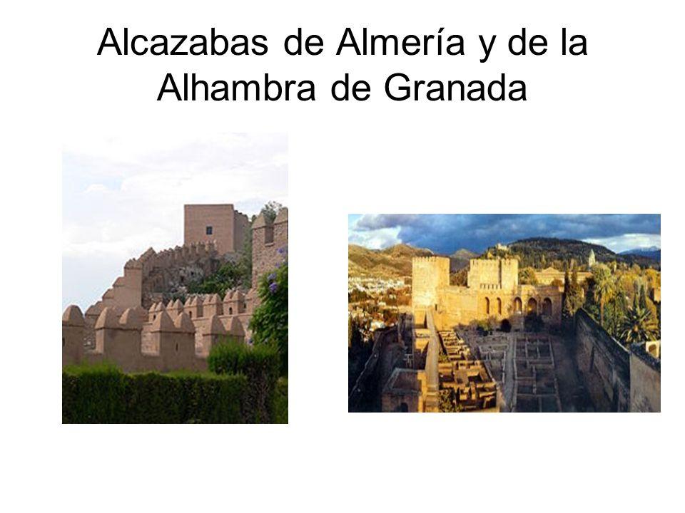 Los Almorávides y su arquitectura Uso preferente del ladrillo para realizar pilares que sustituyen a las columnas.