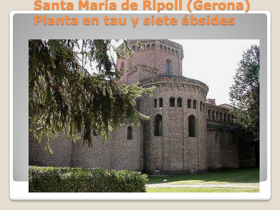 Castillo de Loarre (Navarra) Ábside y cripta conforman un cubo defensivo El ábside y la cripta conforman un cubo defensivo