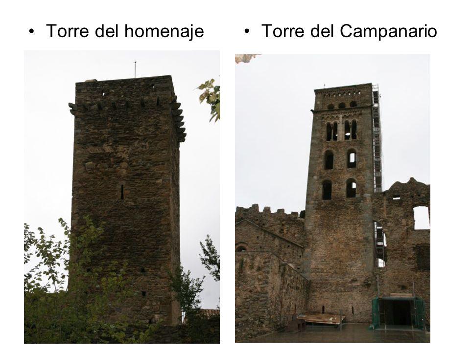 Torre del homenajeTorre del Campanario