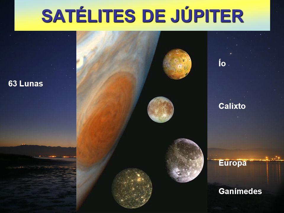 SATÉLITES DE SATURNO 59 Lunas Iapetus: Jápeto Satélite blanco con mancha negra