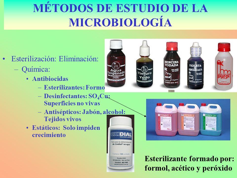 PASTEURIZACIÓN: Reducir agentes patógenos.–Esterilización parcial.