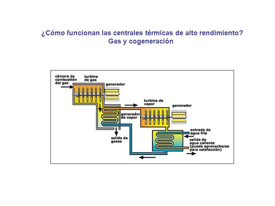 ¿Cómo funcionan las centrales térmicas de alto rendimiento? Gas y cogeneración