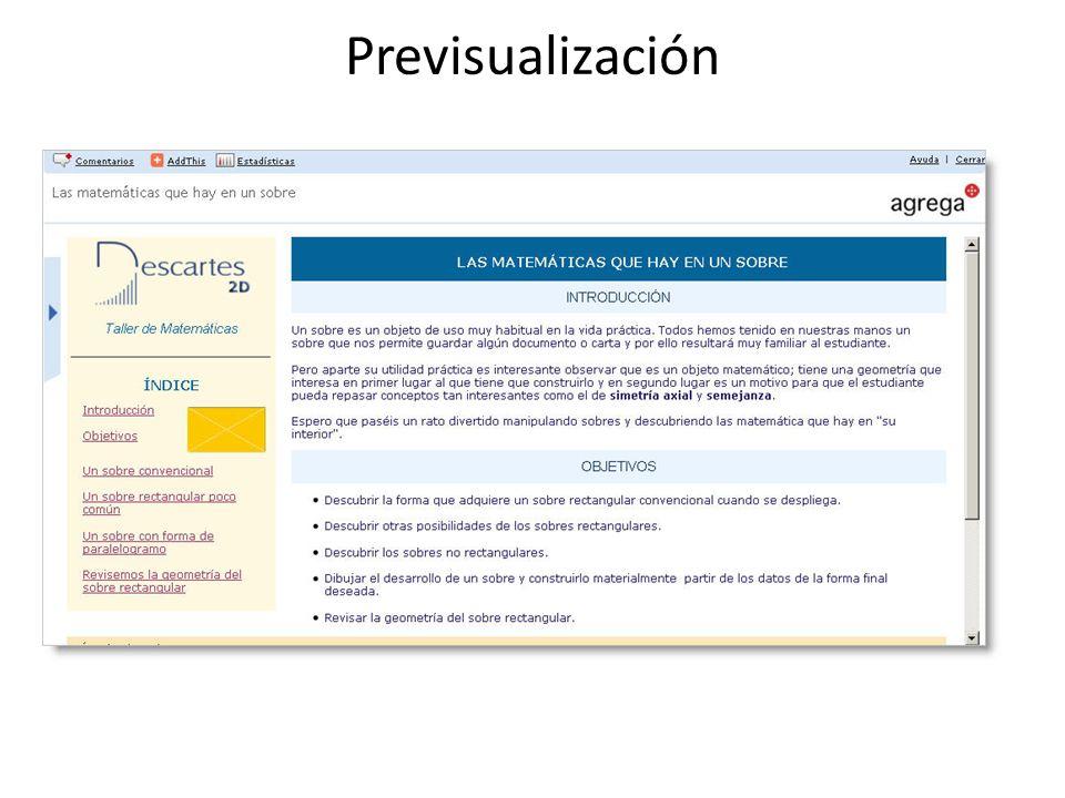 Previsualización