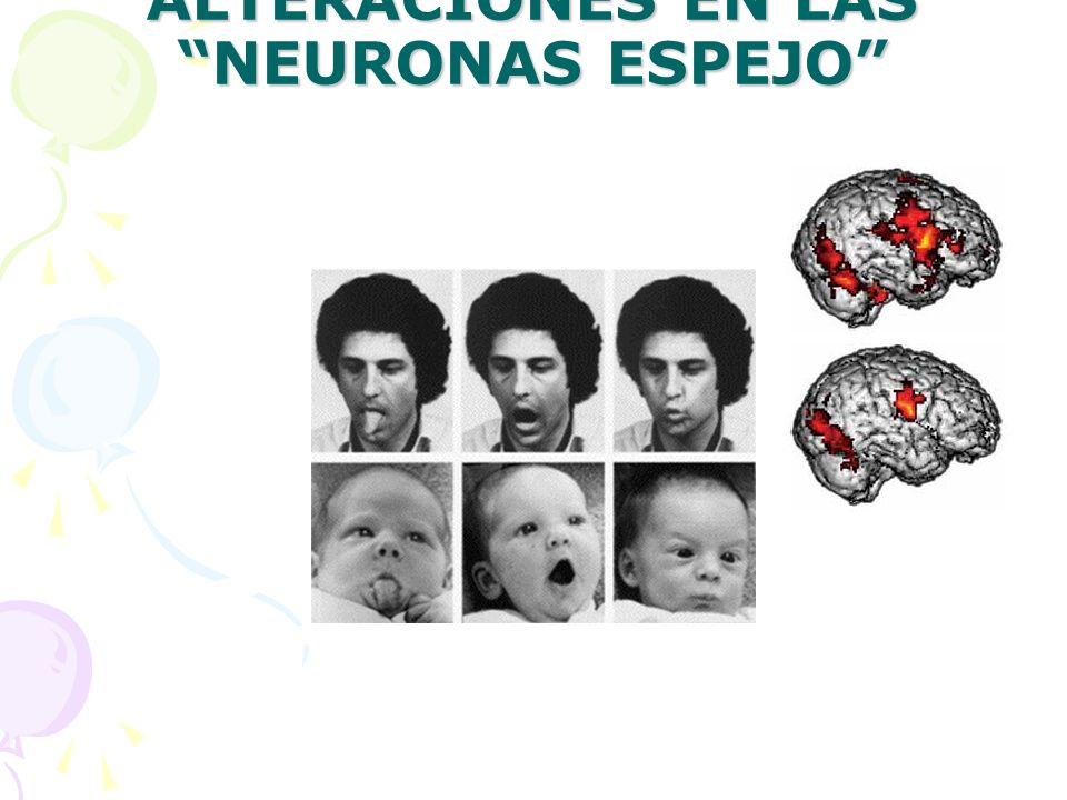 ALTERACIONES EN LAS NEURONAS ESPEJO