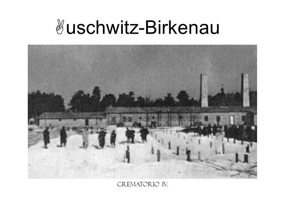 uschwitz-Birkenau Crematorio IV.