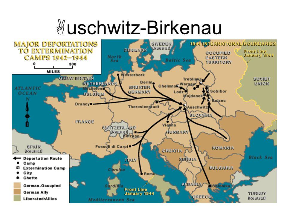 Gaseamientos con Zyklon B en el mortuorio del crematorio de Auschwitz I.
