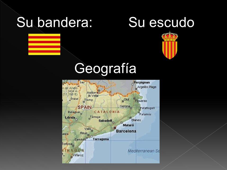 Su bandera:Su escudo Geografía