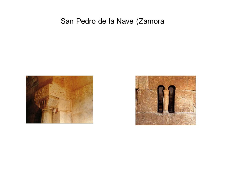 San Julián de los Prados (Oviedo) S. IX (prerramirense)