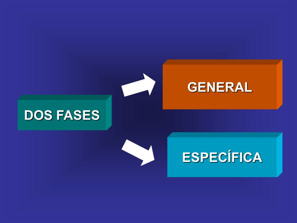 GENERAL ESPECÍFICA DOS FASES