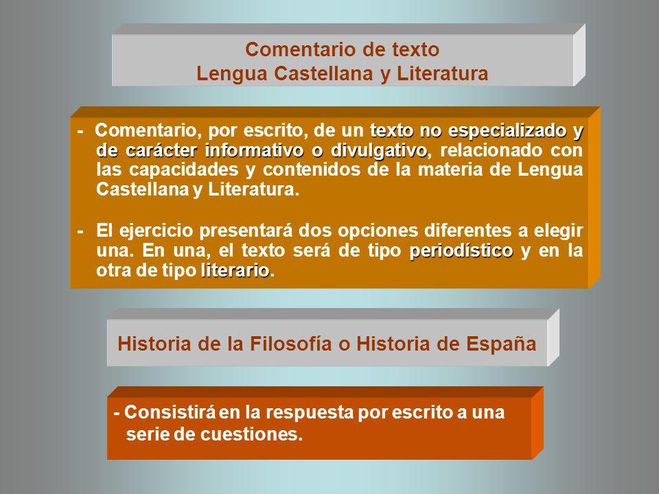 MATERIAS MODALIDAD 2º BACHILLERATO RAMA DE CONOCIMIENTO - Economía de la empresa.