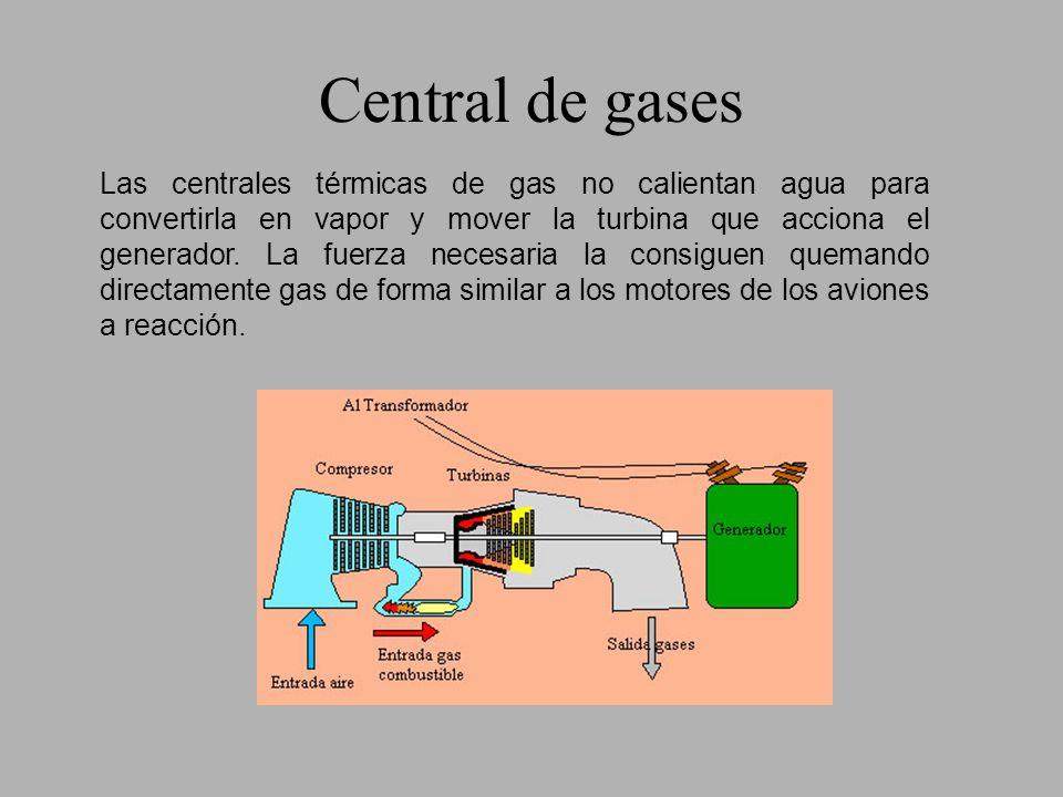 Central nuclear Su funcionamiento es similar al de las centrales térmicas convencionales.