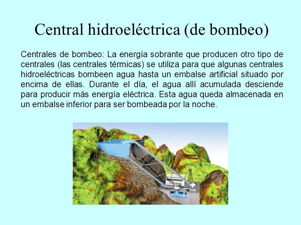 Central eólica La energía eólica es la energía del viento.