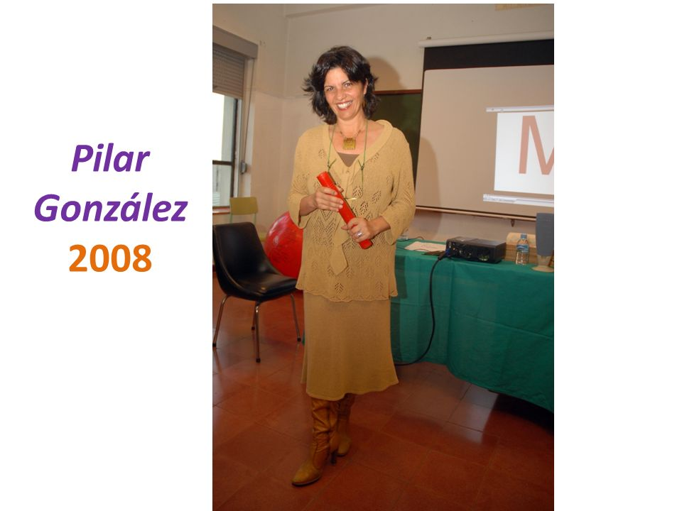 Pilar González 2008