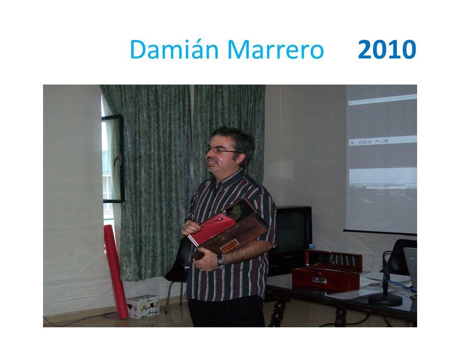 Damián Marrero 2010