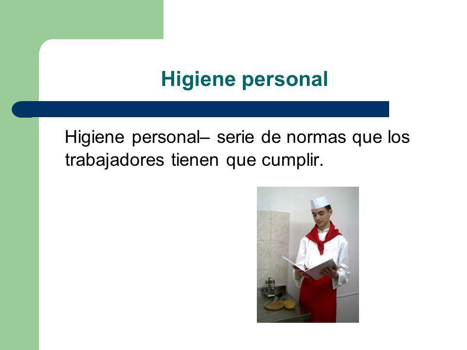Salud del personal: Vendrá determinada por: reconocimiento médico previo.