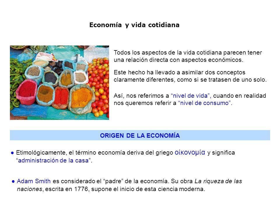 La economía constituye una herramienta más, para interpretar y comprender el mundo en el que vivimos.