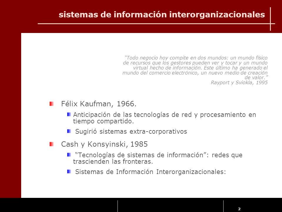 2 Félix Kaufman, 1966. Anticipación de las tecnologías de red y procesamiento en tiempo compartido. Sugirió sistemas extra-corporativos Cash y Konsyin