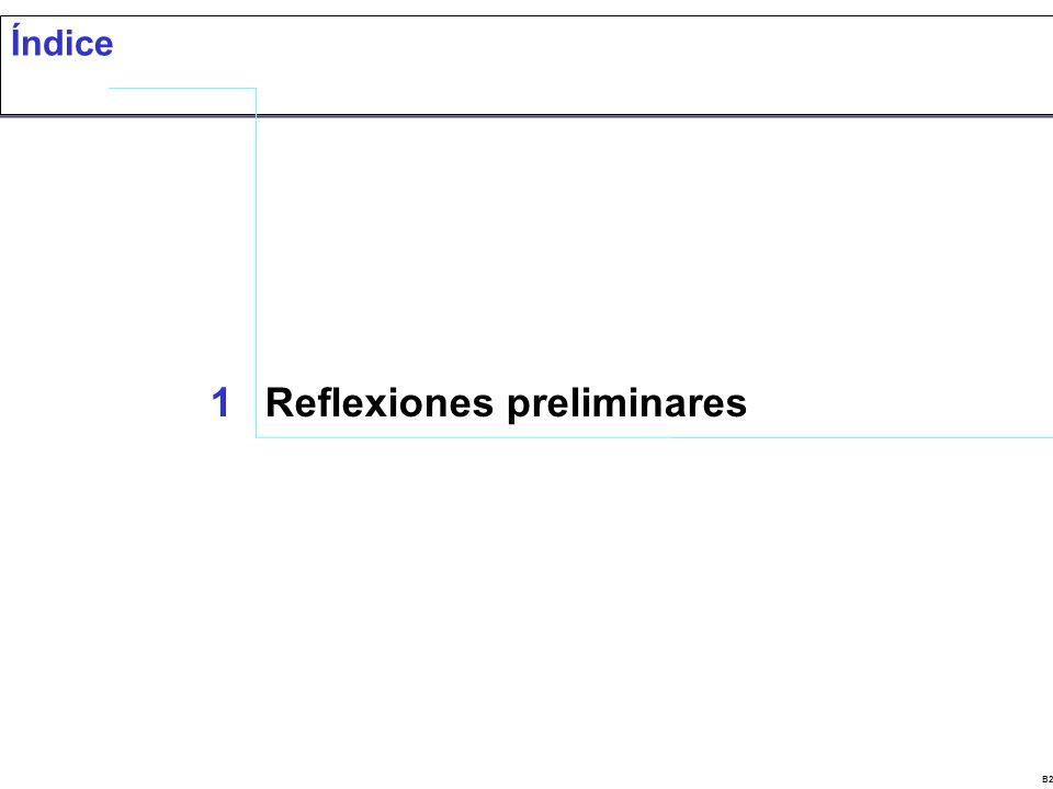 B22843CV Índice 1Reflexiones preliminares
