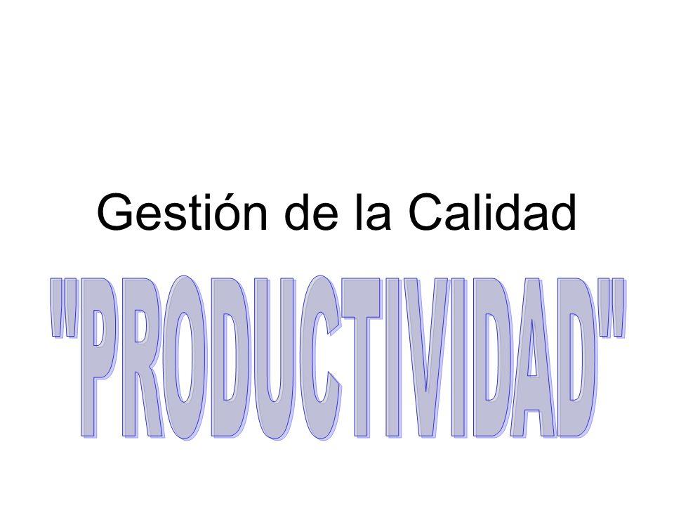 Antecedentes El término productividad aparece en un artículo publicado por F.