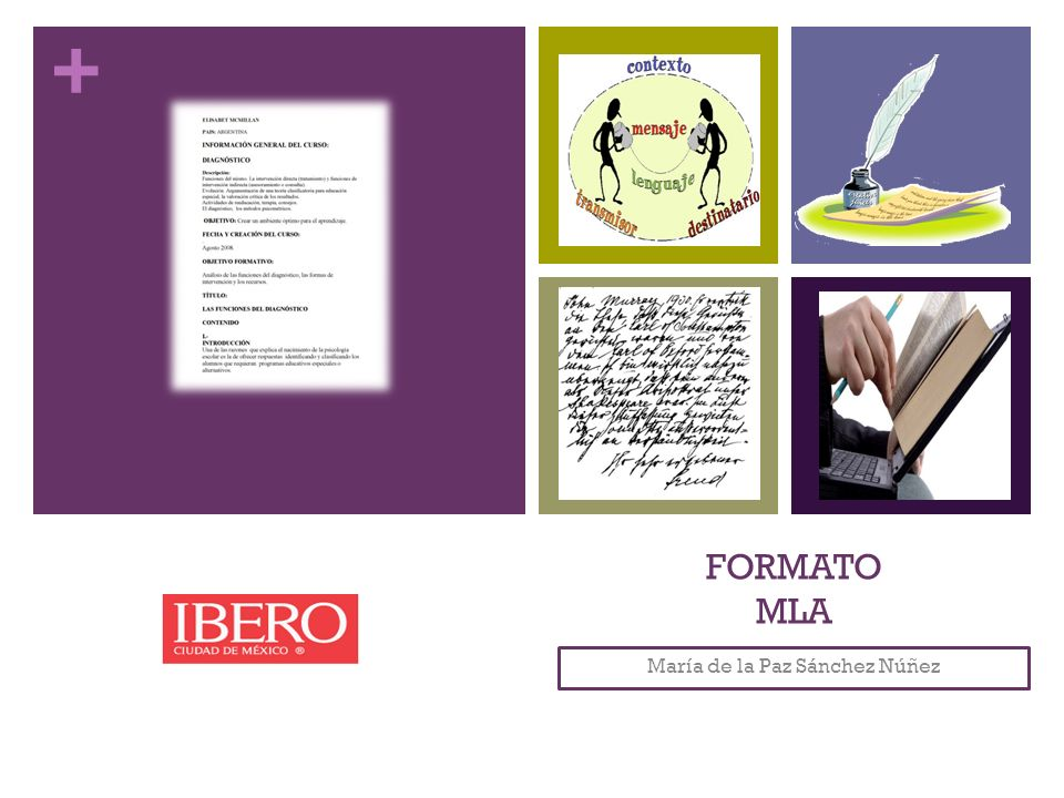 + FORMATO MLA María de la Paz Sánchez Núñez