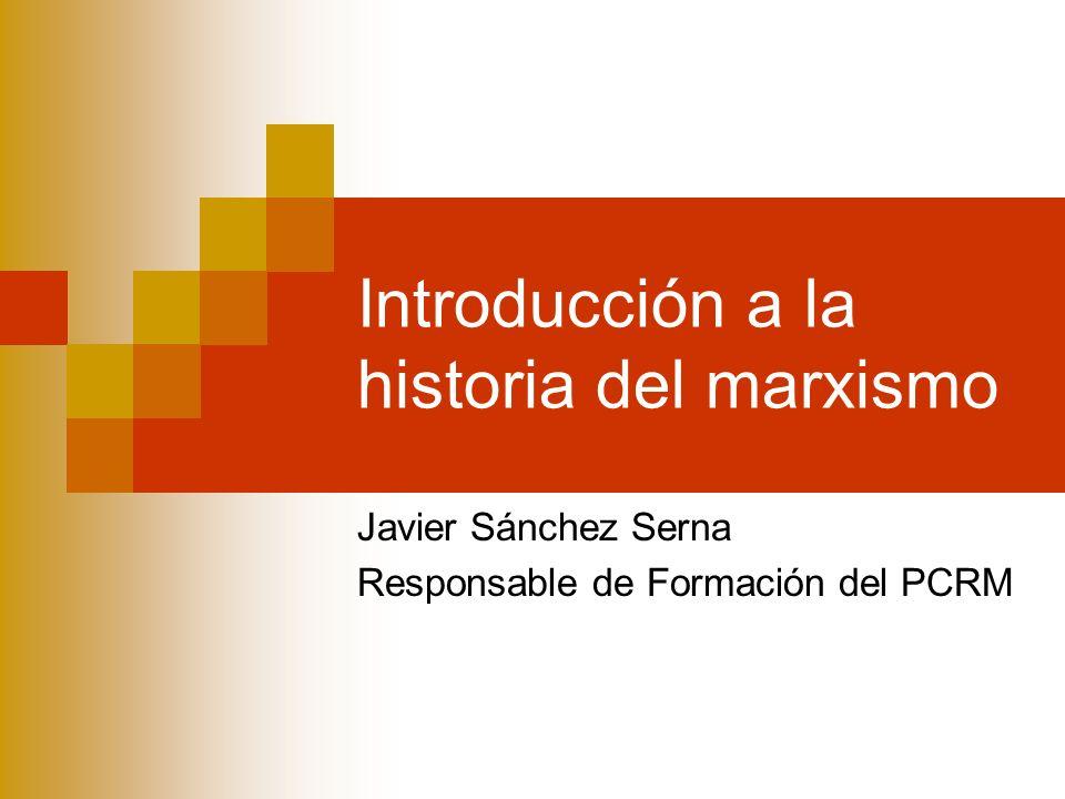 El marxismo occidental El marxismo occidental (Althusser, Garaudy, Della Volpe, Colletti) domina el pensamiento de la izquierda europea desde la posguerra hasta finales de la década de los 70.