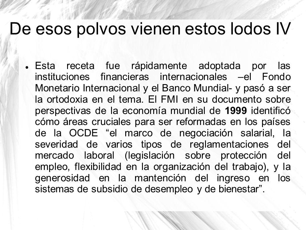Y a España no le gusta llevar la contraria al FMI LOS LODOS EN ESPAÑA