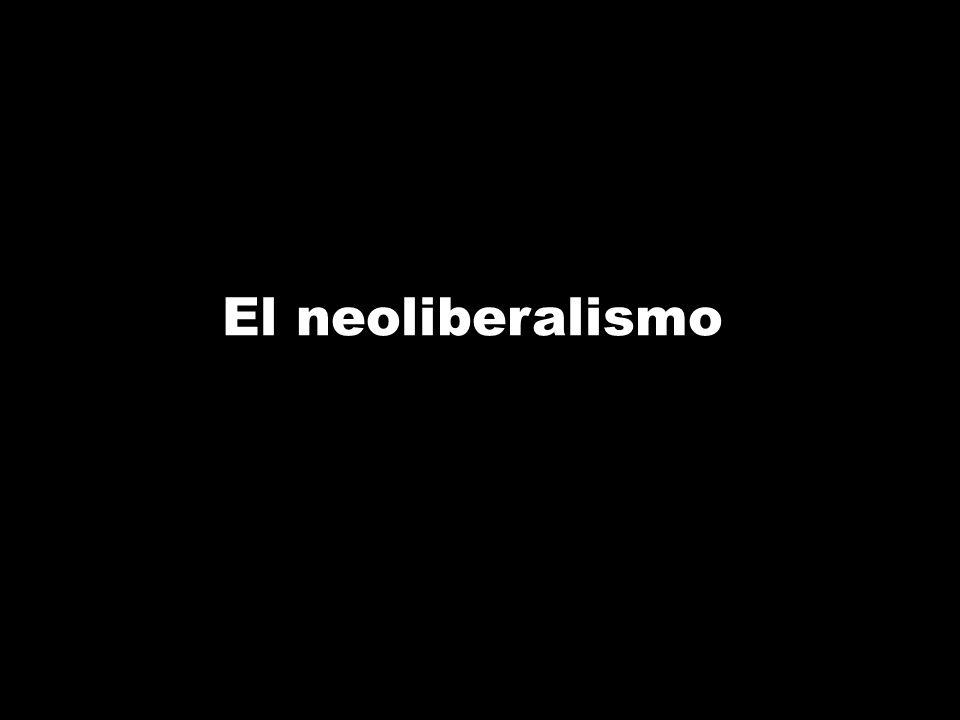 A principios de los años 80, Ronald Reagan, en EE.UU, y Margaret Thatcher, en Reino Unido aplicarán el modelo neoliberal.