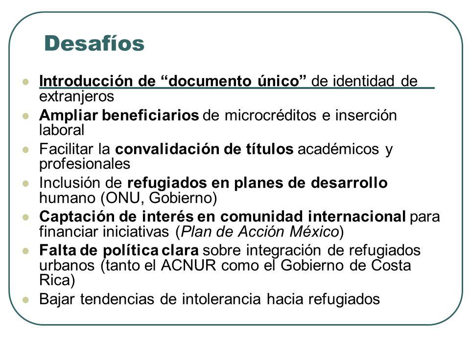Oportunidades Casas Comunitarias – mujeres refugiadas empleadas en el cuido de niños (proyecto piloto del Plan de Acción México con fondos EEUU) – int