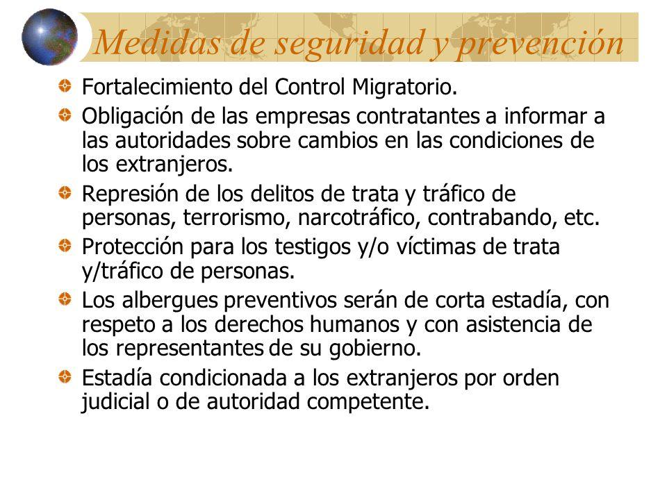 INNOVACIONES El Consejo Consultivo de Migración, como un organismo de consulta colegiado e interinstitucional que servirá de foro para edificar políticas migratorias.