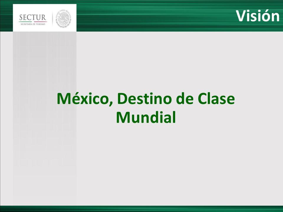 Visión México, Destino de Clase Mundial