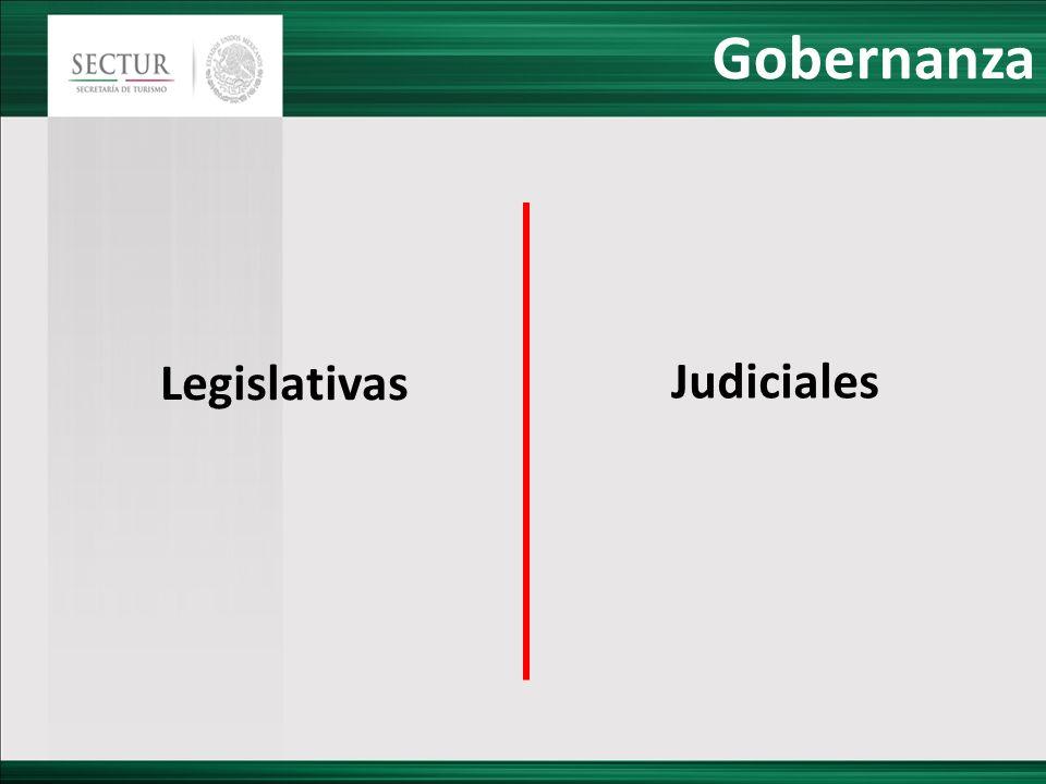 Gobernanza Legislativas Judiciales