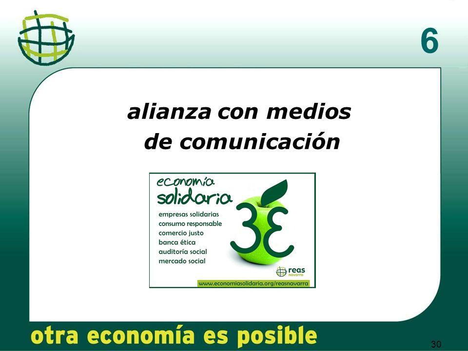 30 6 alianza con medios de comunicación