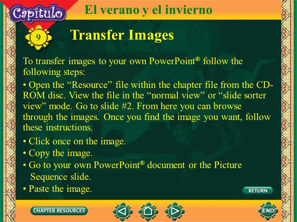 Vocabulario Other useful expressions ayeryesterday 9 El verano y el invierno por encima deon top of (English–Spanish)