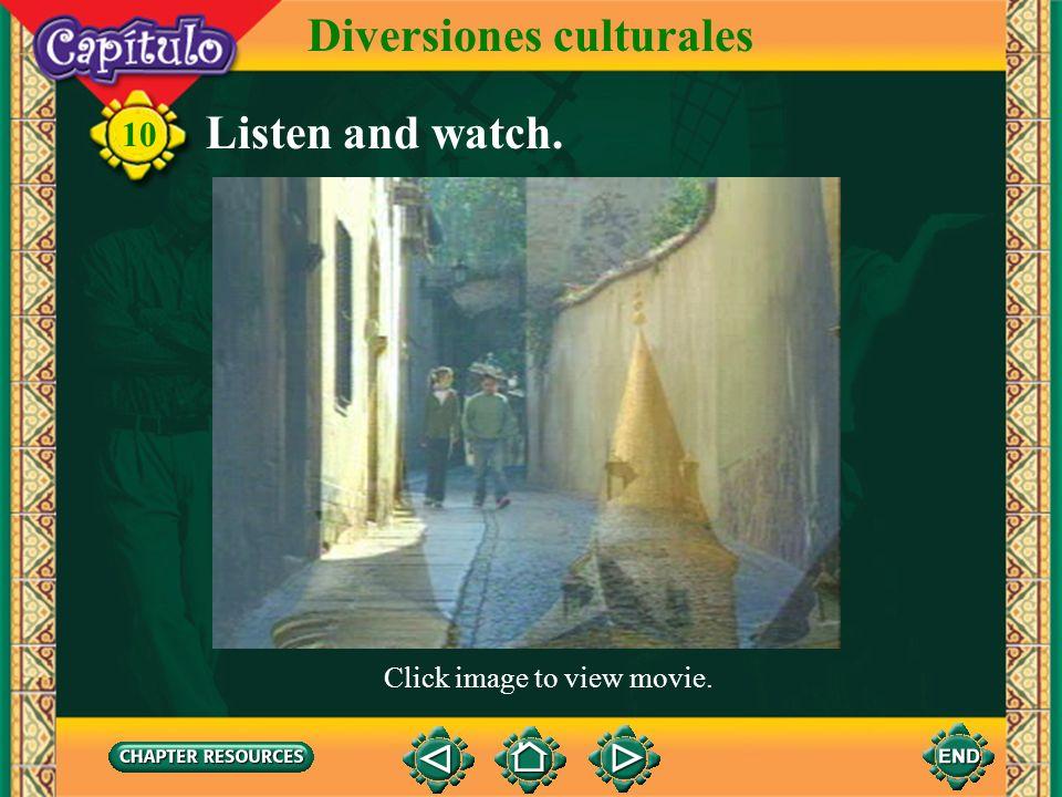 10 Diversiones culturales 1. Paula __ habló a Teodoro. Complete. Answer: le 2. Inés y Miguel ___ dieron los libros a Felipe y Claudia. Answer: les 3.