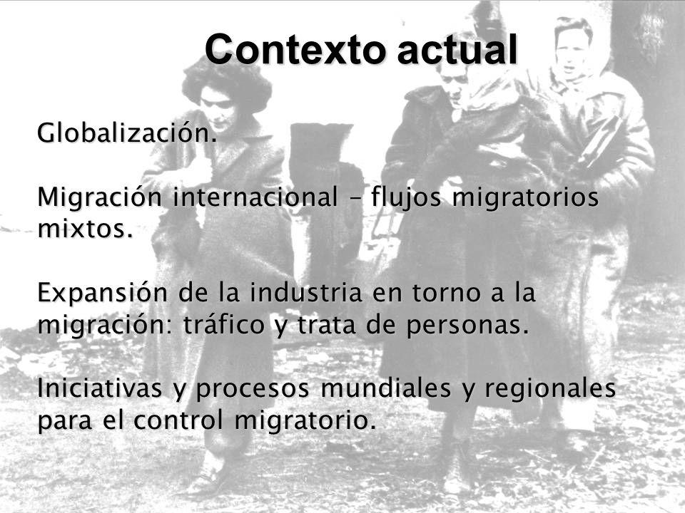 (…) Concepto de protección a refugiados como concepto de derechos humanos.