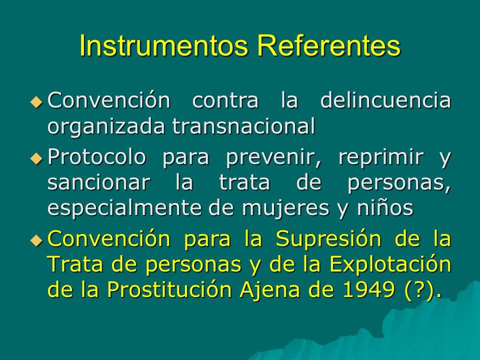 Convención contra la Delincuencia Organizada Transnacional del 2000 (Convención de Palermo).