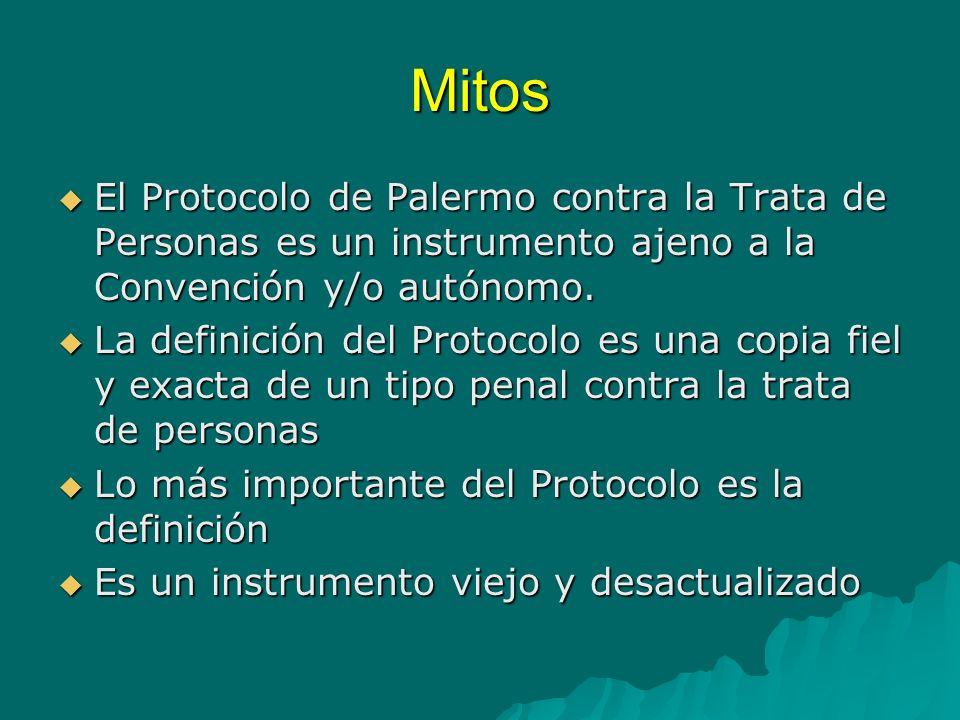 Protocolo para prevenir, reprimir y sancionar la trata de personas especialmente mujeres y niños Protocolo Palermo TdP Prevención Atención Víctimas Persecución Cooperación Internacional Protección Derechos Humanos