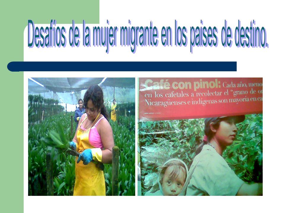 Feminización de la migración Criterios para establecer la afirmación: – Cantidad de población femenina en relación a la masculina Cuántas somos?.