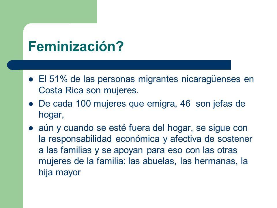 Cuarto Desafío Ser reconocidas como fuerza migratoria laboral.