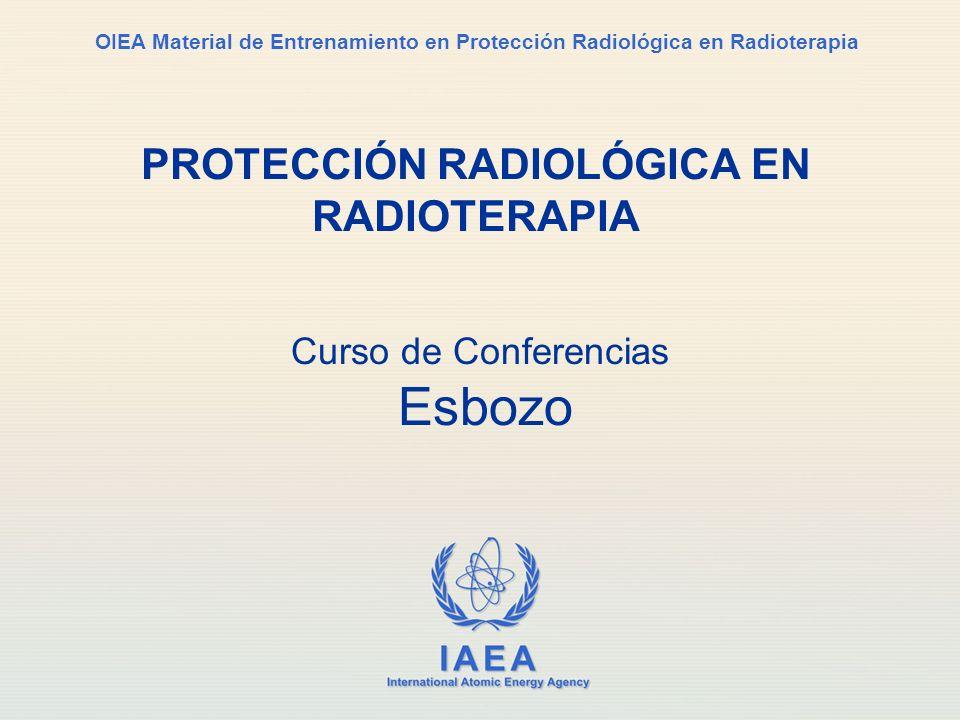 IAEA Protección Radiológica en Radioterapia2 El OIEA Agencia Internacional de Energía Atómica Designación: establecer normativa en materia de seguridad, para la protección de la salud … y apoyar la aplicación de esas normas.