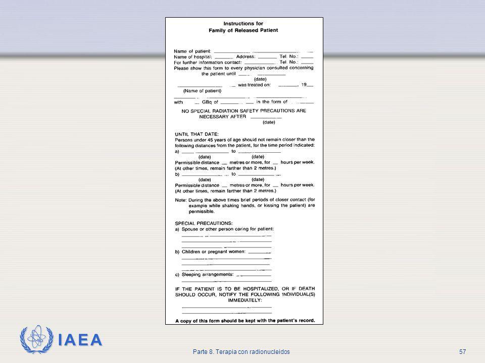 IAEA Parte 8. Terapia con radionucleidos57