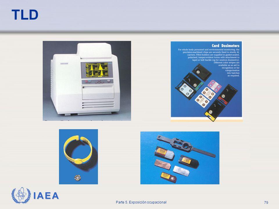 IAEA Parte 5. Exposición ocupacional 79 TLD