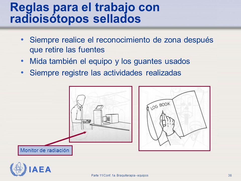 IAEA Parte 11/Conf.1a. Braquiterapia - equipos39 3.