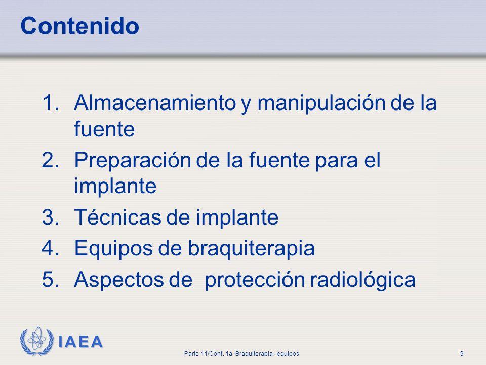 IAEA Parte 11/Conf.1a. Braquiterapia - equipos10 1.